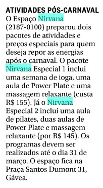 Globo - Zona Sul - 14-02