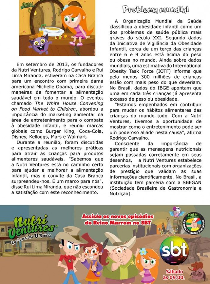 Nutri Ventures - Revista Zenit